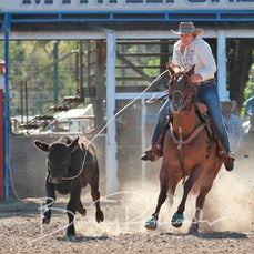 Myrtleford Rodeo 2018 - Breakaway Roping - Sect 1