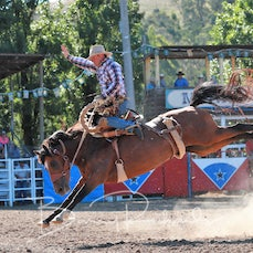 Myrtleford Rodeo 2018 - 2nd Div Saddle Bronc - Sect 1