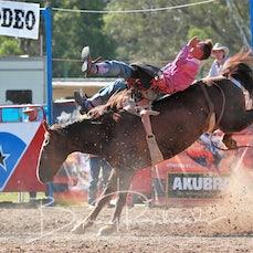Myrtleford Rodeo 2018 - 2nd Div Bareback Reride - Beau Walpole