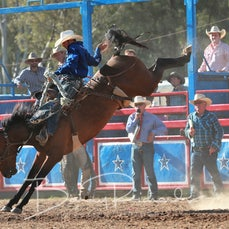 Myrtleford Rodeo 2018 - Open Saddle Bronc - Sect 1