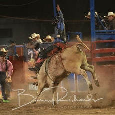 Myrtleford Rodeo 2018 - Open Bull Ride - Sect 1
