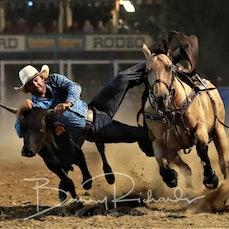 Myrtleford Rodeo 2018 - Steer Wrestling - Sect 2