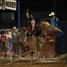 Myrtleford Rodeo 2018 - Open Bull Ride - Sect 2