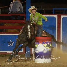 Myrtleford Rodeo 2018 - Open Barrel Race - Sect 1
