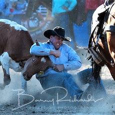 Myrtleford Rodeo 2018 - Steer Wrestling - Sect 1