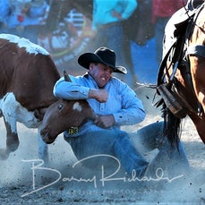 Myrtleford Rodeo 2018 - Steer Wrestling - Sect 1