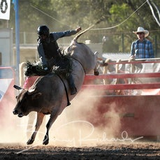 Myrtleford Rodeo 2018 - 2nd Div Bull Ride - Sect 1