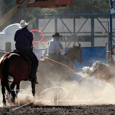 Myrtleford Rodeo 2018 - Team Roping - Sect 1