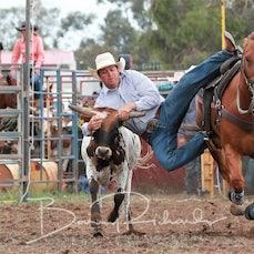 Yarrawonga Steer Wrestling - Slack 1