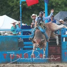 Tumbarumba 2019 - Brennans Earthmoving - Open Bull Ride Chute Out