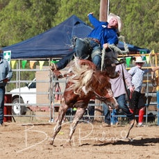 Finley Rodeo 2019 - Open Saddle Bronc Run off - Cody Angland 1