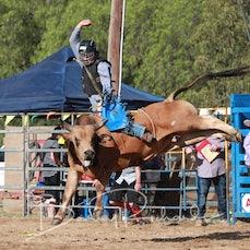 Finley Rodeo 2019 - 2nd Div Bull Ride - Slack 1