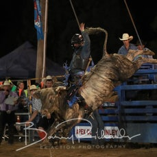Finley Rodeo 2019 - Open Bull Ride - Sect 2