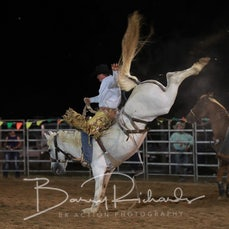 Finley Rodeo 2019 - Open Saddle Bronc - Sect 2