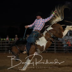 Finley Rodeo 2019 - Open Saddle Bronc - Sect 1