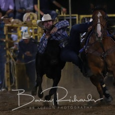 Finley Rodeo 2019 - Steer Wrestling - Sect 2