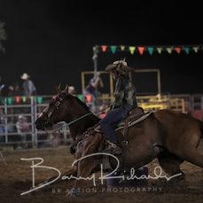 Finley Rodeo 2019 - Open Barrel Race - Sect 1