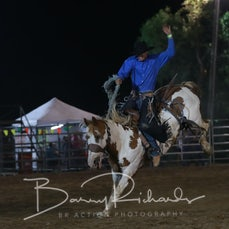 Finley Rodeo 2019 - Open Saddle Bronc - Sect 2 Re-ride TH