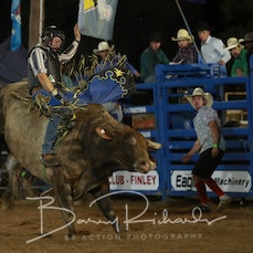Finley Rodeo 2019 - Open Bull Ride - Sect 1