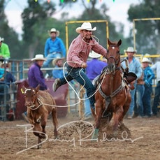 Finley Rodeo 2019 - Rope & Tie - Sect 1