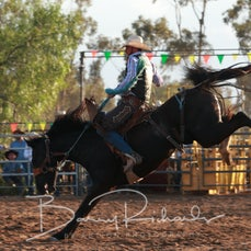 Finley Rodeo 2019 - 2nd Div Saddle Bronc - Sect 1