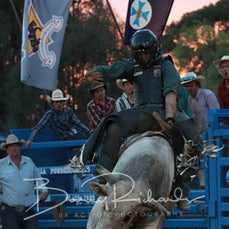 Finley Rodeo 2019 - 2nd Div Bull Ride - Sect 1