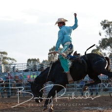 Finley Rodeo 2019 - 2nd Div Saddle Bronc - Reride - Sect 1
