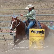 Alexandra Rodeo 2019 - Open Barrel Race - Slack 1