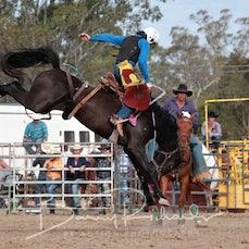 Alexandra Rodeo 2019 - 2nd Div Saddle Bronc - Sect 1