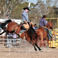 Alexandra Rodeo 2019 - 2nd Div Saddle Bronc Re-ride - Sect 1