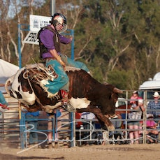 Alexandra Rodeo 2019 - 2nd Div Bull Ride - Sect 1