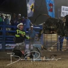 Alexandra Rodeo 2019 - Open Bull Ride - Sect 1
