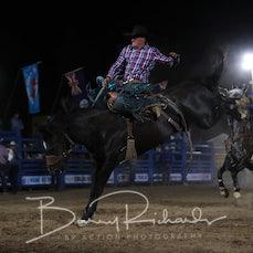 Alexandra Rodeo 2019 - Open Saddle Bronc - Sect 1