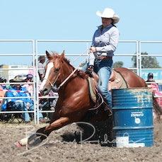 Yarra Valley Rodeo 2019 - Open Barrel Race - Slack 1