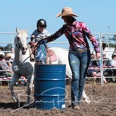 Yarra Valley Rodeo 2019 - Junior Barrel Race - Sect 1