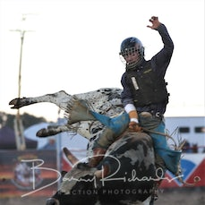 Yarra Valley Rodeo 2019 - 2nd Div Bull Ride - Sect 2