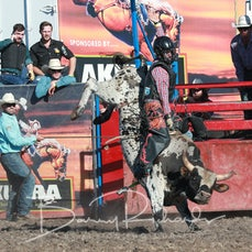 Yarra Valley Rodeo 2019 - 2nd Div Bull Ride - Sect 1
