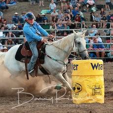 Alexandra Rodeo 2019 - Junior Barrel Race - Sect 1