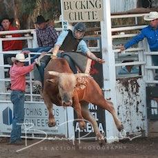 Narrandera Rodeo 2019 - 2nd Div Bull Ride - Sect 1