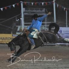 Narrandera Rodeo 2019 - 2nd Div Saddle Bronc - Sect 1