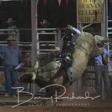 Narrandera Rodeo 2019 - Open Bull Ride - Sect 1