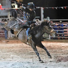 Narrandera Rodeo 2019 - Open Saddle Bronc - Sect 1