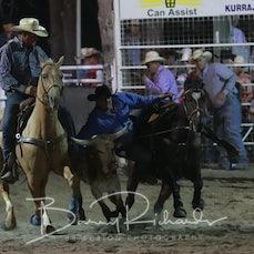 Narrandera Rodeo 2019 - Steer Wrestling - Sect 2