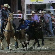 Narrandera Rodeo 2019 - Steer Wrestling - Sect 2