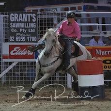 Narrandera Rodeo 2019 - Junior Barrel Race - Sect 1