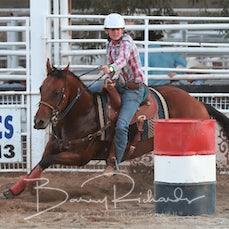 Narrandera Rodeo 2019 - Open Barrel Race - Sect 1