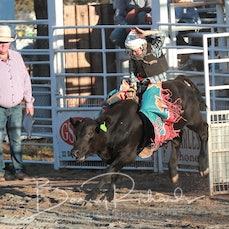 Narrandera Rodeo 2019 - Junior Steer Ride - Sect 1