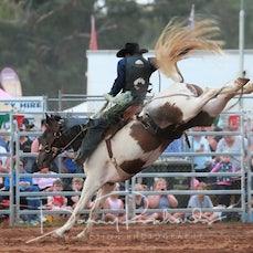 Kyabram Rodeo 2019 - Open Saddle Bronc - Sect 1