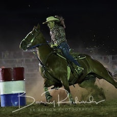 Kyabram Rodeo 2019 - Open Barrel Race - Sect 1