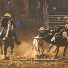 Kyabram Rodeo 2019 - Steer Wrestling - Sect 2